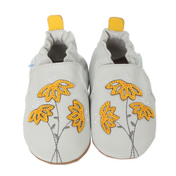Marigold Embroidery Baby Shoes