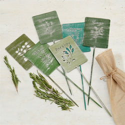 Set of Herb Markers
