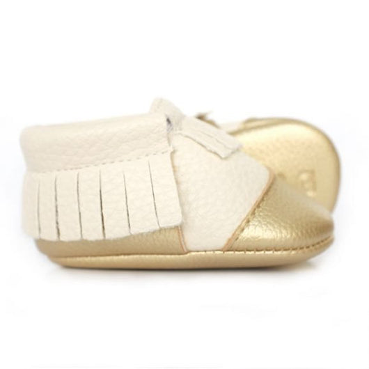 Midas Touch Baby Moccasins