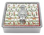 Nutcracker Beaded Napkin Box