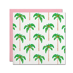 Palm Tree Foil Cocktail Napkins