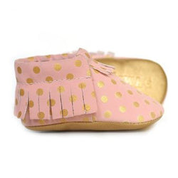 Pretty N Pink Baby Moccasins