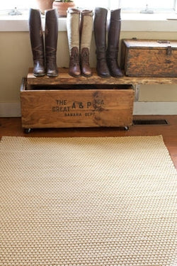 Rope Wheat 4 x 6 Area Rug