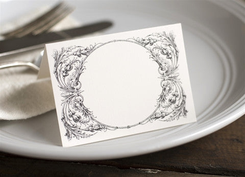 Italian Scroll Placecards