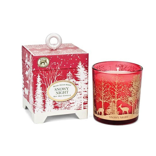 Snowy Night 6.5 oz. Soy Wax Candle