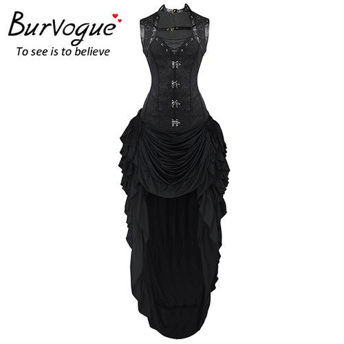 Burvogue Dobby Steampunk Corset Dress