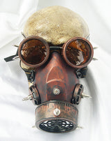 Anti-Wind Tin Steampunk Gas Mask