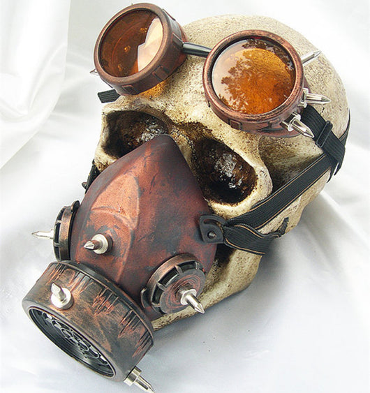 Road Warrior Steampunk Gas Mask