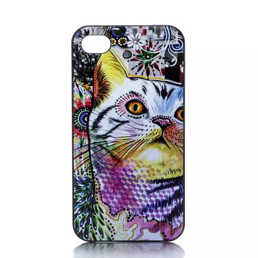 Colorful Cat Phone Case for iPhone 6, 6S