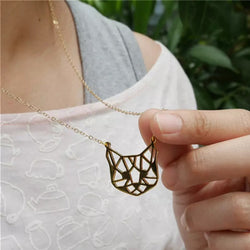 Buy Origami Cat Necklace