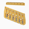 6 String Multi-Scale Fixed Guitar Bridge