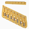 7 String Multi-Scale Fixed Guitar Bridge