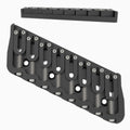 8 String Multi-Scale Fixed Guitar Bridge