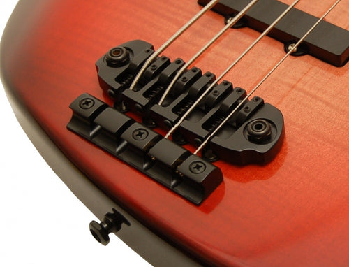 4 String D Style Bass Bridge