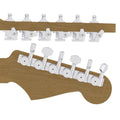 Guitar Tuner Upgrade Kit (6 Inline Headstocks)