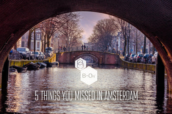 Escaping the tourist trap - 5 things you missed in Amsterdam