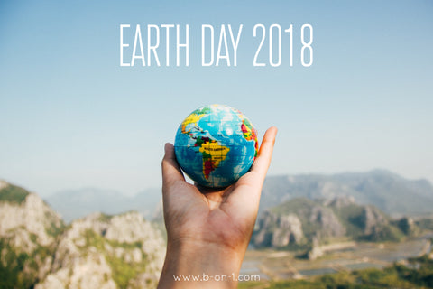 B On 1 Earth Day 2018
