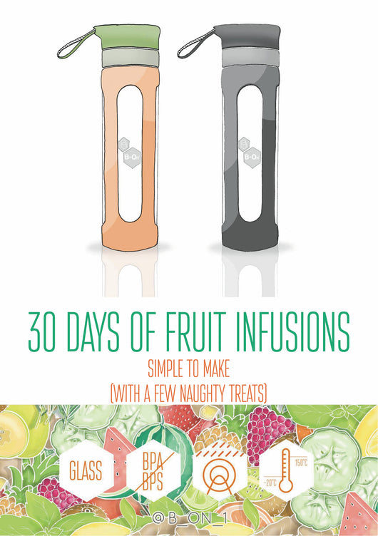 30 Days of Fruit Infusion Recipes