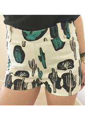 Cactus high rise jean shorts