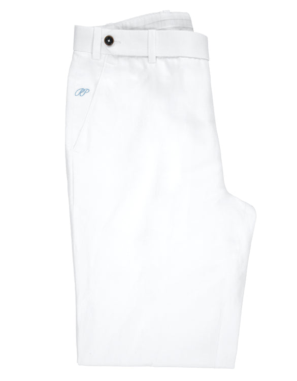 PP Trousers 100% Cotton White