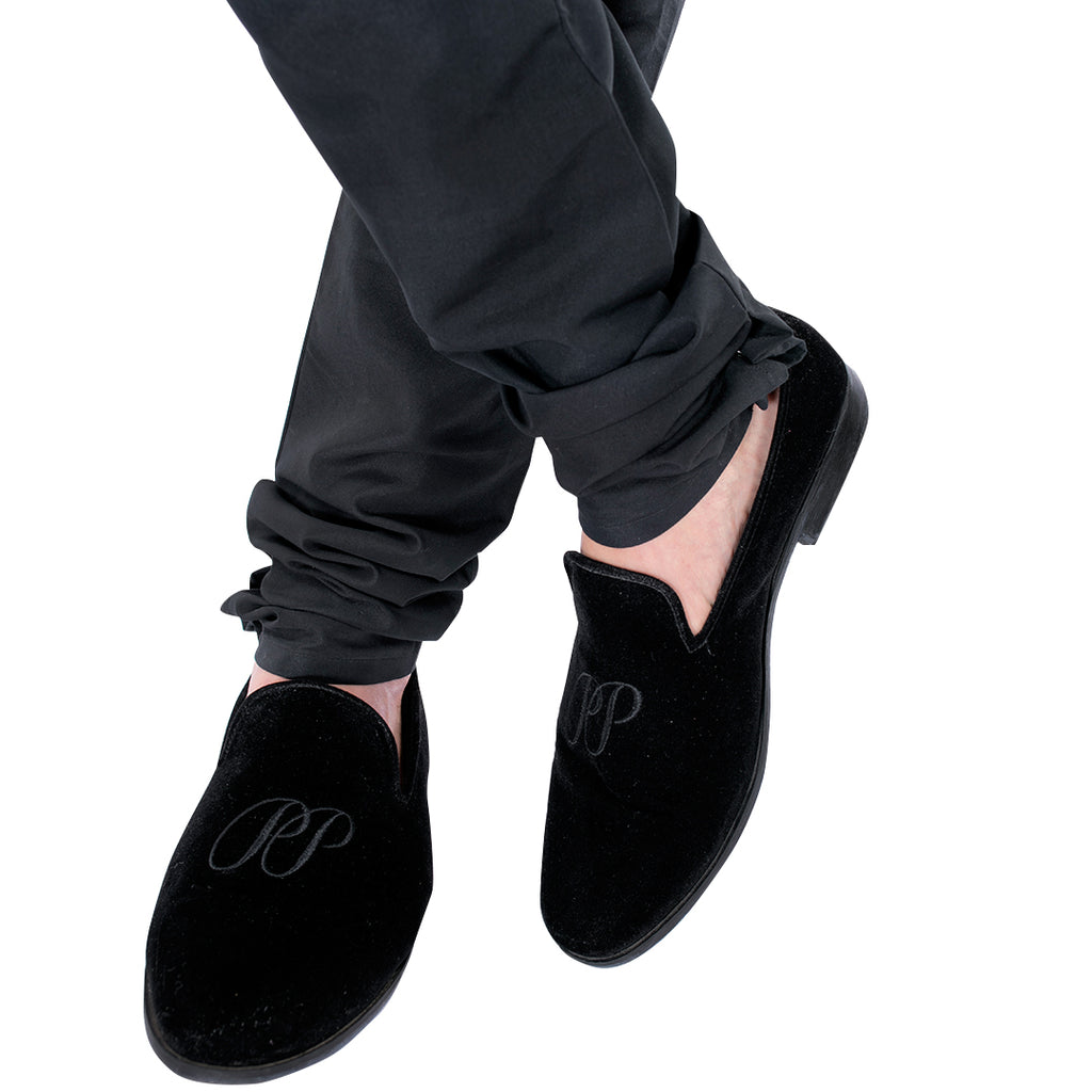 Super Black Shoes