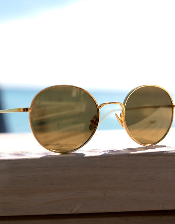 Sunglasses - 2.4 Karat Gold