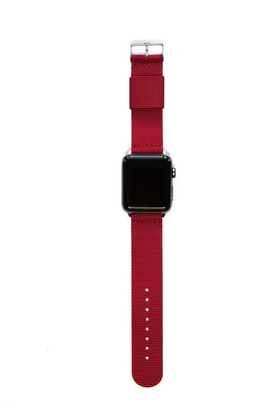 Simply Bordeaux Red - Watch Band - FSX Labs