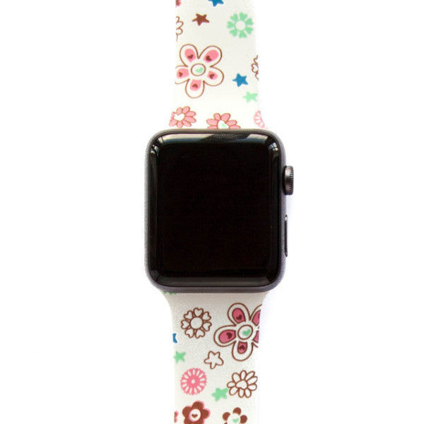 70s Flower Power - Watch Band - FSX Labs