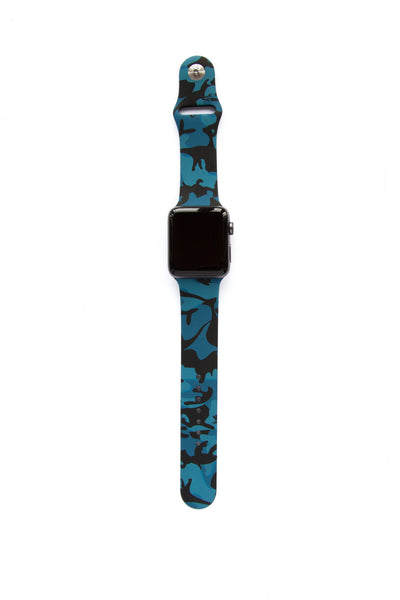 Midnight Blue Camo - Watch Band - FSX Labs