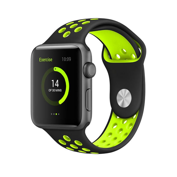 Black / Volt - Apple Watch Band - Sports Edition - Watch Band - FSX Labs
