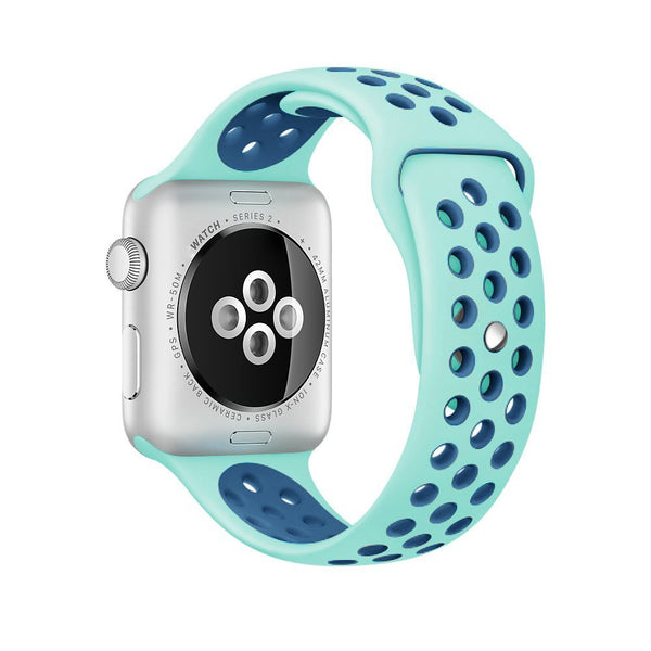 Mintgreen+Blue - Apple Watch Band - Sports Edition - Watch Band - FSX Labs