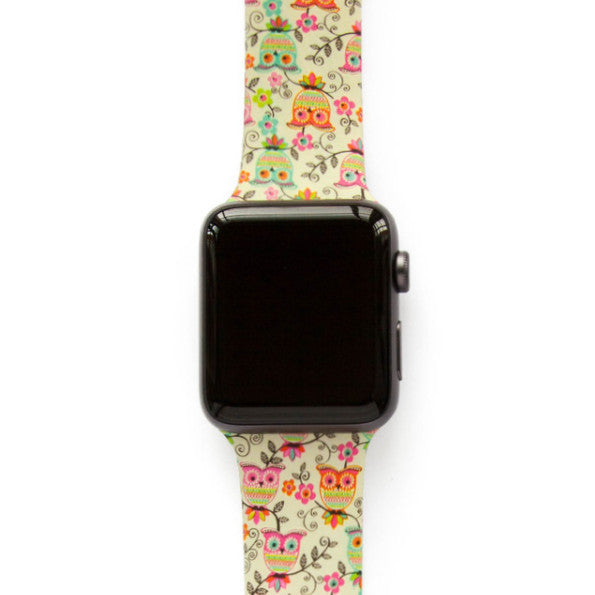 Romantic Picnic Owls - Watch Band - FSX Labs