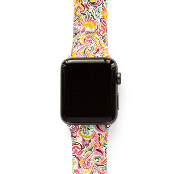 Paisley Pink - Watch Band - FSX Labs