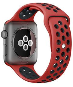 Red Ninja - Apple Watch Bands - Sports Edition - Watch Band - FSX Labs