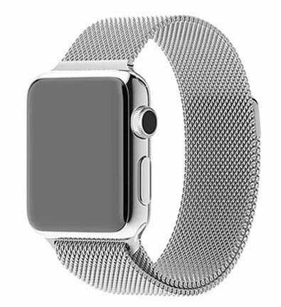 Slick Silver Metal - Apple Watch Band - Watch Band - FSX Labs