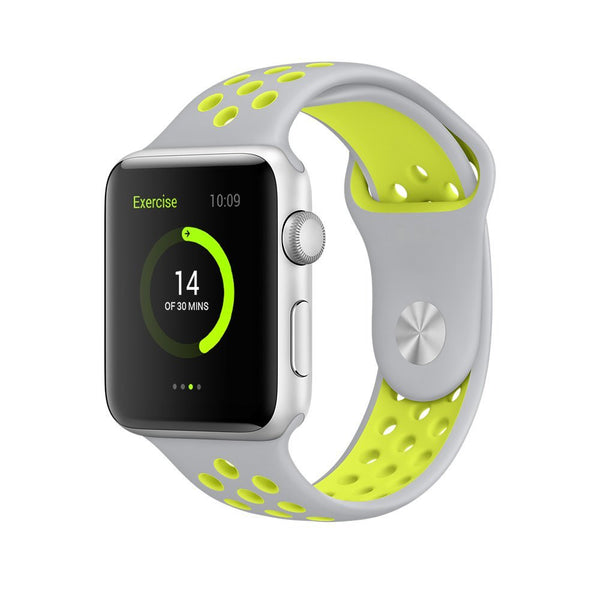 Silver / Volt - Apple Watch Band - Sports Edition - Watch Band - FSX Labs