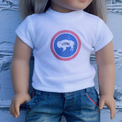 18 Inch Doll Clothes | Wyoming Graphic T-Shirt