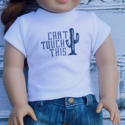 18 Inch Doll Clothes | Can't Touch This Graphic T-Shirt