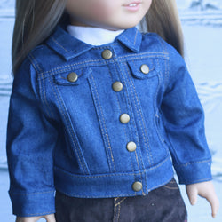 18 Inch Doll Clothes | Denim Jacket