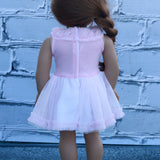 18 Inch Doll Clothes | Pink Tulle Dress