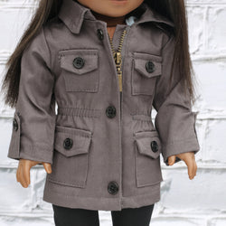 18 Inch Doll Clothes | Cargo Jacket