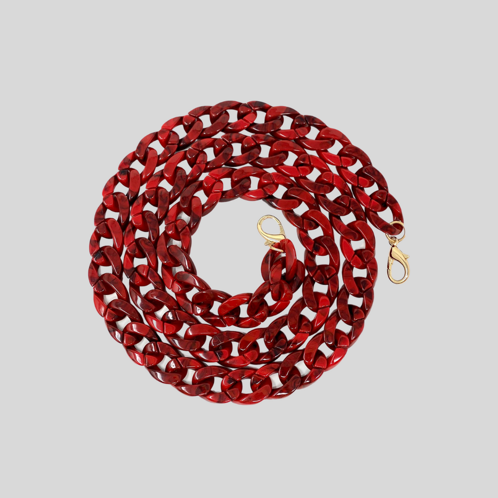 Red Resin Chain