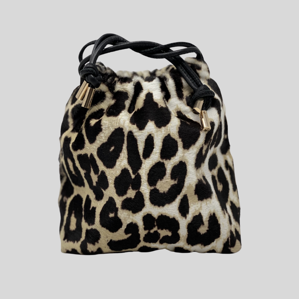Printed Leopard Leather
