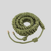 Olive Green Woven Strap