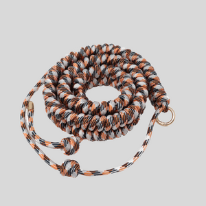 Orange, White & Black Patterned Woven Strap