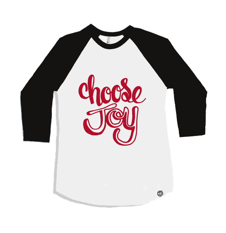 Choose Joy Raglan Raglan