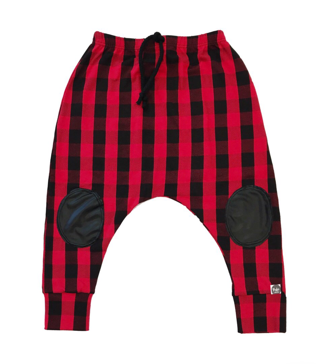 Bamboo Buffalo Plaid Harems