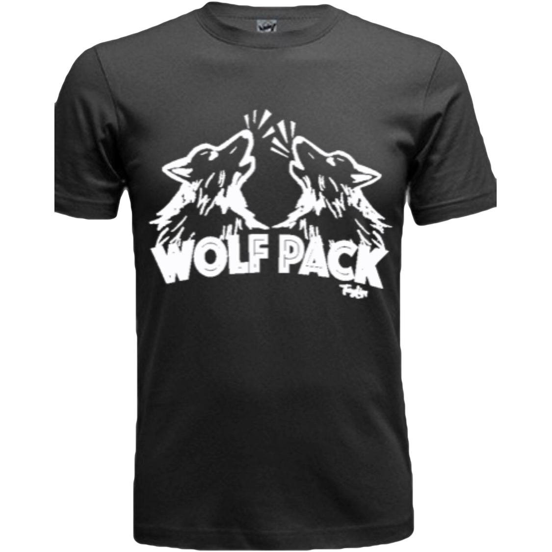 Men's Wolf Pack Black SS Shirt