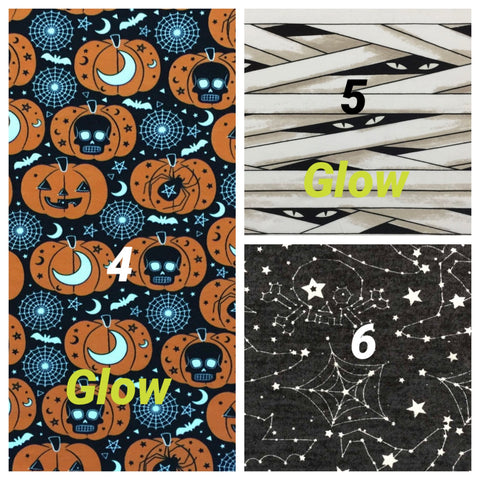 Halloween Pants Fabric 4-6