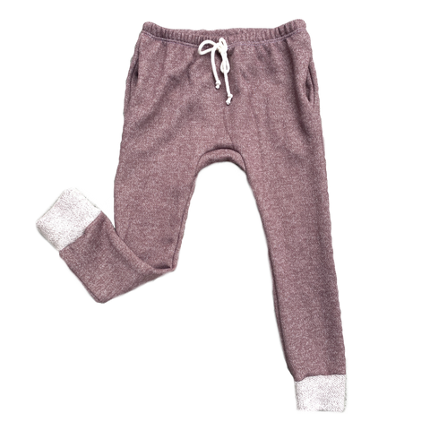 Mocha French Terry Gusset Pocket Joggers